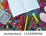 color school lessons | Shutterstock . vector #1153400446