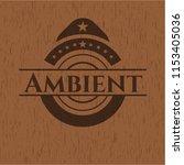 ambient wooden signboards | Shutterstock .eps vector #1153405036