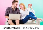 modern young people leisure... | Shutterstock . vector #1153429549