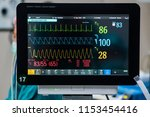 monitor vital signs for patient ...   Shutterstock . vector #1153454416