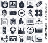 set of 25 icons such as cit...