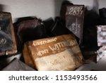 auschwitz birkenau...   Shutterstock . vector #1153493566