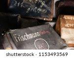 auschwitz birkenau...   Shutterstock . vector #1153493569