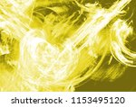 yellow color toned monochrome... | Shutterstock . vector #1153495120