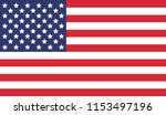 national united state of... | Shutterstock .eps vector #1153497196