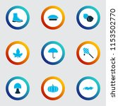 season icons colored set with... | Shutterstock .eps vector #1153502770