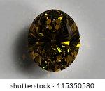 diamond on white background... | Shutterstock . vector #115350580