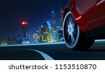 low angle side view of car... | Shutterstock . vector #1153510870