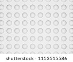 white bubbled background  3d... | Shutterstock . vector #1153515586
