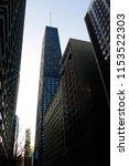 john hancock building | Shutterstock . vector #1153522303