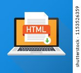download html button on laptop...