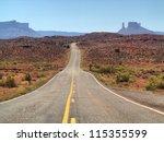 road trip  utah  usa | Shutterstock . vector #115355599