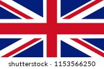 flag of great britain | Shutterstock . vector #1153566250