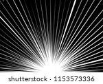 abstract black line zoom light... | Shutterstock .eps vector #1153573336