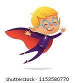 kids costume party. dracula... | Shutterstock .eps vector #1153580770