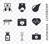 set of 9 simple transparency...   Shutterstock .eps vector #1153582369