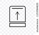 upload button vector icon... | Shutterstock .eps vector #1153584820