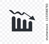 bar stats vector icon isolated... | Shutterstock .eps vector #1153588783