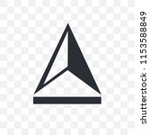 upload vector icon isolated on... | Shutterstock .eps vector #1153588849
