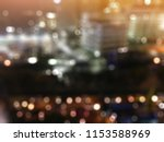 abstract blur background night... | Shutterstock . vector #1153588969