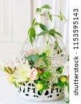 Floral Arrangement With Roses ...