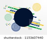 brazil independence day... | Shutterstock .eps vector #1153607440