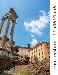 temple of apollo sosianus ... | Shutterstock . vector #1153614556