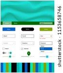 light blue  green vector...