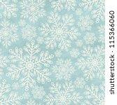 Seamless Winter Pattern On...