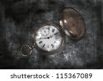 old pocket watch | Shutterstock . vector #115367089