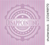disappointing retro style pink...   Shutterstock .eps vector #1153698970