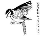monochrome vector graphic of... | Shutterstock .eps vector #1153706680
