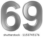 numeral 69  sixty nine ... | Shutterstock . vector #1153745176