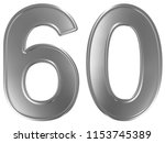 numeral 60  sixty  sixty ... | Shutterstock . vector #1153745389