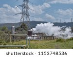 steam venting from a geothermal ...