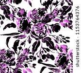 watercolor seamless pattern...   Shutterstock . vector #1153764376