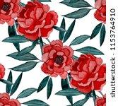 watercolor seamless pattern... | Shutterstock . vector #1153764910