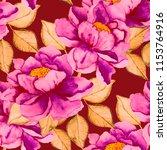 watercolor seamless pattern... | Shutterstock . vector #1153764916