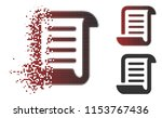 vector paper roll icon in... | Shutterstock .eps vector #1153767436