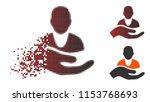 vector patient assistance icon... | Shutterstock .eps vector #1153768693