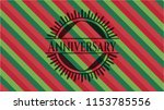 anniversary christmas colors... | Shutterstock .eps vector #1153785556