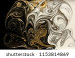 marble abstract acrylic... | Shutterstock . vector #1153814869