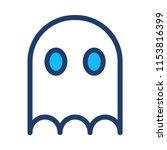 monster ghost creepy  | Shutterstock .eps vector #1153816399