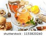 tea on white background | Shutterstock . vector #1153820260