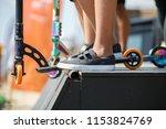 odessa 25 august 2017  young... | Shutterstock . vector #1153824769