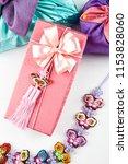 norigae and gift  korean... | Shutterstock . vector #1153828060