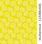 lemon seamless pattern in... | Shutterstock .eps vector #1153882606