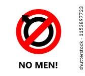 no men icon to use as a... | Shutterstock .eps vector #1153897723