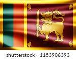 sri lanka  flag of silk 3d...   Shutterstock . vector #1153906393