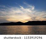 sunset on the sea | Shutterstock . vector #1153919296